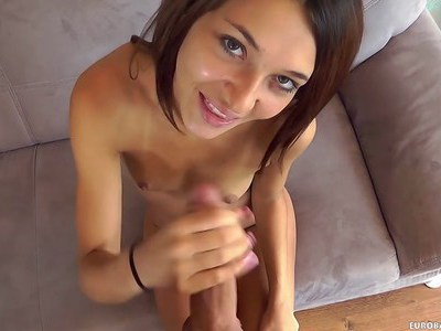 Casting Alexis Brill blowjob with monster cock