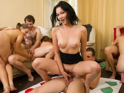 Medieval fuck at the students horny party