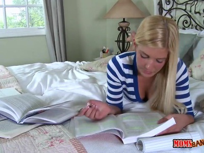 Her step mother teaching teens to fuck