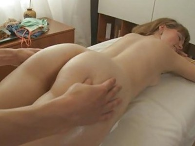 Amateur wench gladly jumps on a hard as rock rod