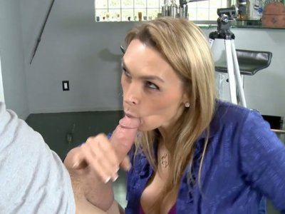 Petite milf Tanya Tate explores her sex nature in the lab