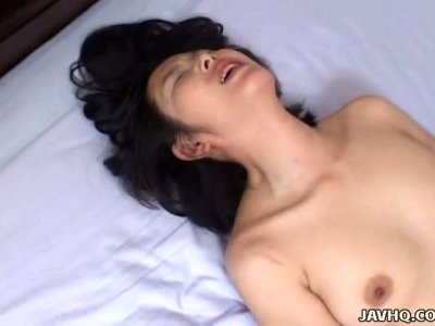 Hot Japanese babe Kyoko Hayama has a sexciting fun in 69 pose