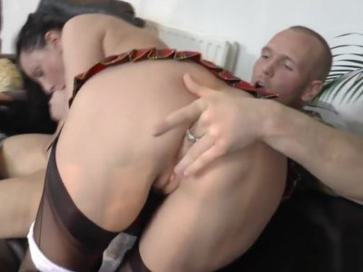 Uk Milf Gets Assfucked And Creampied