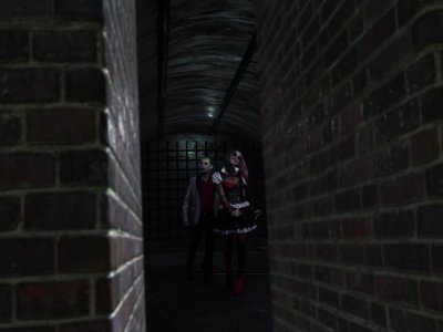 Porn parody DC XXX - Anal threesome in Gotham's tunnel