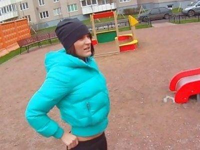 Hardcore gang bang for a secret livecam