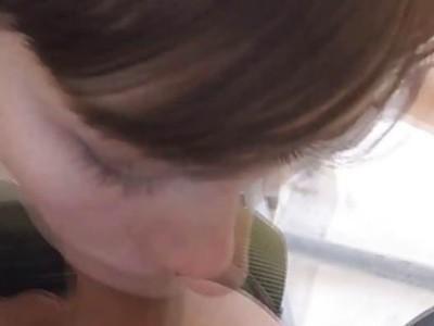 Hannah got fucked and banged hard by border patrol agent