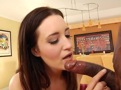 Kimberly Kane wraps her lips round this huge prick