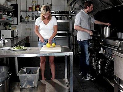 Crazy kitchen kinkiness