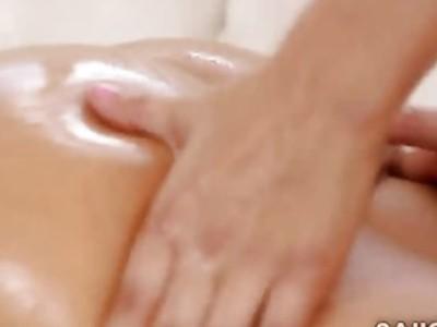 Beautiful ginger massages best friends gorgeous body