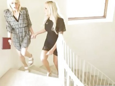 Amazing Blonde Chicks Have Fun Toying Their Pussies