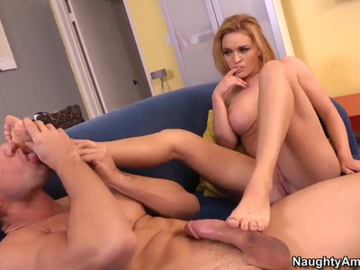 Johnny Castle licks and pounds Krissy Lynn