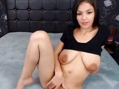Hot Sexy Brunette Babe Enjoy Being Fucked on Her M