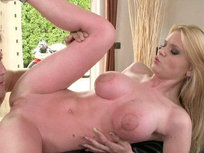 Pale skin bitch Natasha Brill rides her boyfriend's hard dick